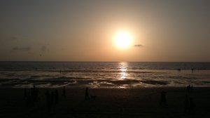 Mumbain auringon alla
