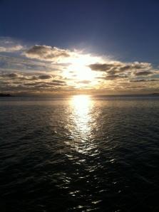 lokakuun aurinko