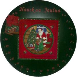 joulukalenteri irti