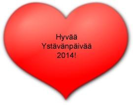Sydän Ystävänpäivä